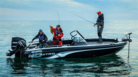 nitro boats nitro boats 2016 zv18 performance multi species fishing