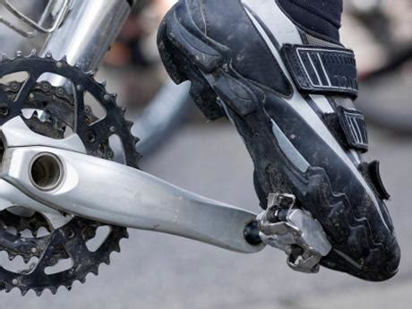 mountain bike clip pedals and shoes just anatomy of mountain bike parts components