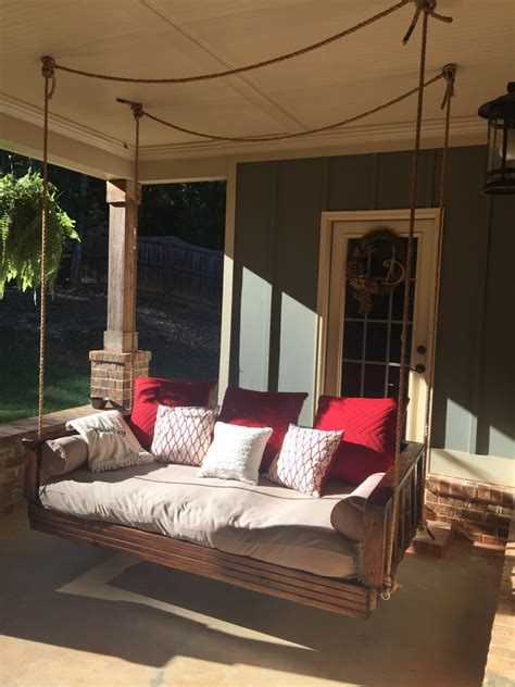 outdoor swing bed day bed swing porch swing by deuleydesigns on etsy