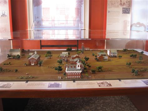 diorama house gettysburg s wills house the misleading mislabeled