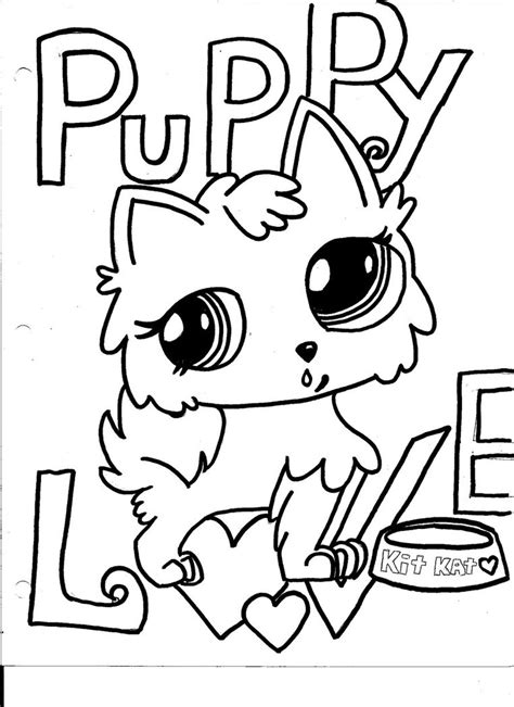 coloring pages of littlest pet shop dogs little pet shop puppy love by yaya0519 on deviantart