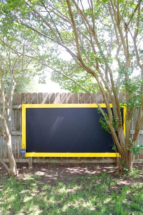 chalk paint outdoors outdoor chalkboard hometalk