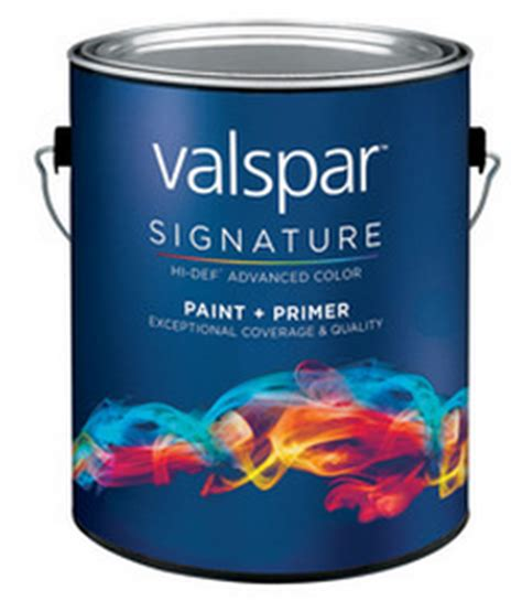 new 5 00 valspar signature paint at lowe s coupon happy money saver
