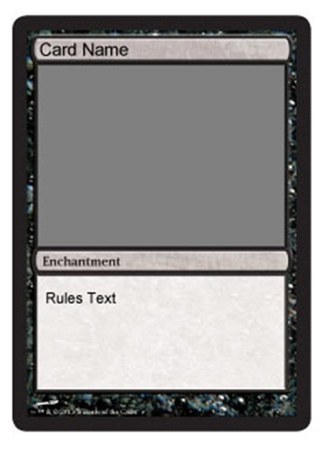 add a card template to magic card maker you make the card 4 bracket magic the gathering