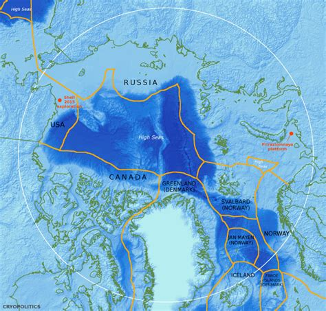 Arctic Continental Shelf by The Continental Shelf Geological Or