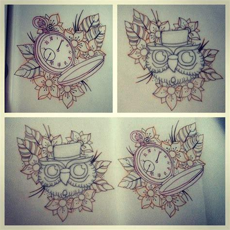 tattoo flash watch picstitch tattoo tattooflash flash flashart owl owl
