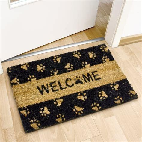 zerbino ingresso relaxdays zerbino da ingresso con scritta quot welcome