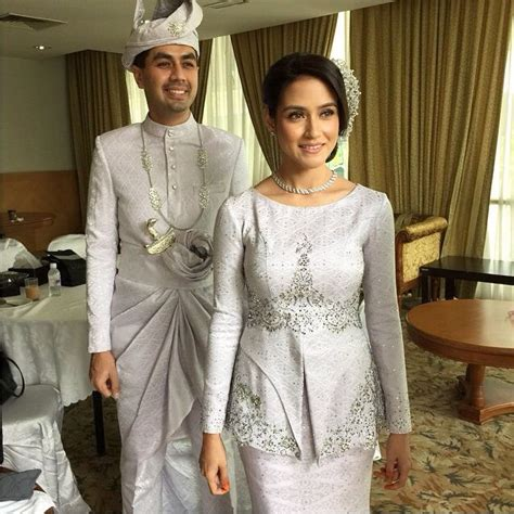 dress putih nikah silver songket wedding dress pinterest wedding dress