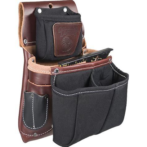 occidental leather 5564 belt worn fastener bag w divided