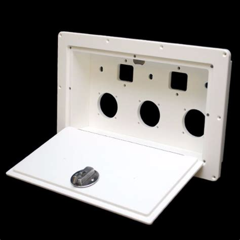 boat battery box with switch mako 20422 arctic white 15 3 4 x 9 in boat battery switch
