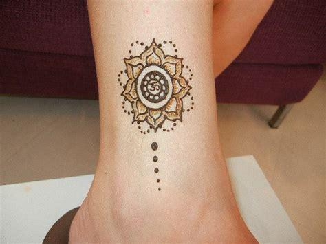 mandala henna flower design henna designs pinterest