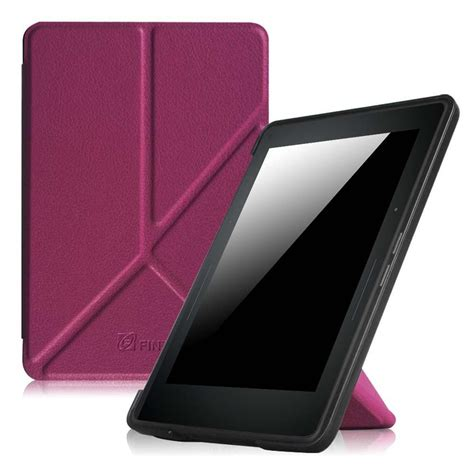 Origami Kindle - fintie origami for kindle voyage purple