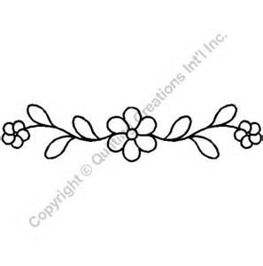 quilting stencils gt floral amp leaf borders item 11 quot x 2