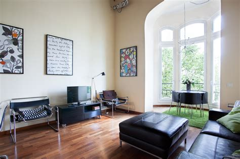 furnished two bedroom apartment furnished 2 bedroom apartment for rent near placa de catalunya