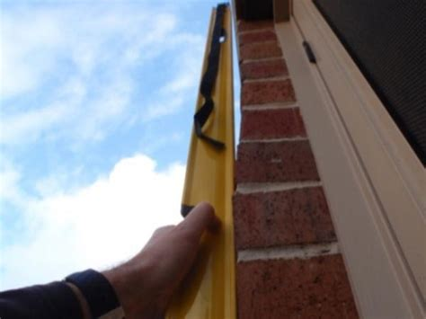 Out Of Plumb by Wall Plumb Photo Safehome Inspections Melbourne Vic