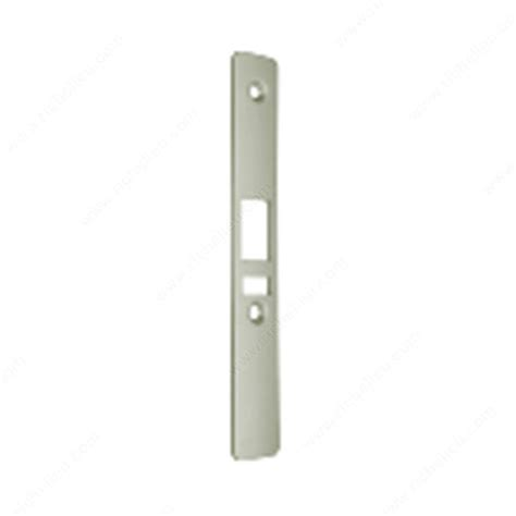 dl series deadbolt faceplate with weatherstripping