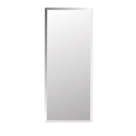 frameless mirrored medicine cabinet recessed horizon 16 in w x 36 in h x 4 5 in d frameless recessed