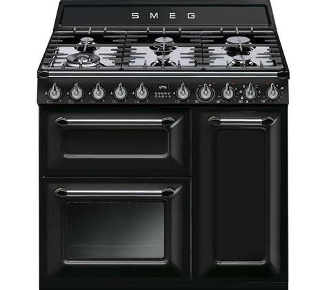 smeg appliances buy smeg victoria tr93bl 90 cm dual fuel range cooker