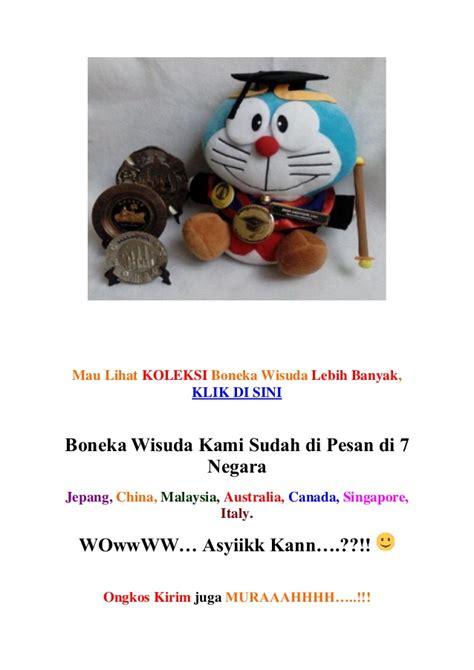 Boneka Wisuda Sapi 0813 8058 0479 wa call sms boneka wisuda lawek jual