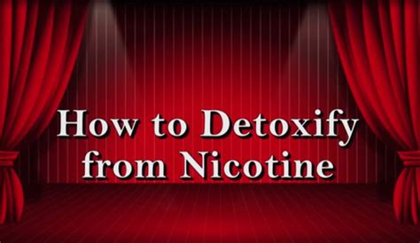 Signs Of Detoxing From Nicotine by Withdrawl