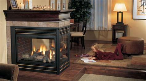 regency panorama p131 multi sided gas fireplace