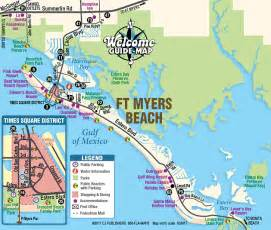 fort myer florida map ft myers map map of fort myers