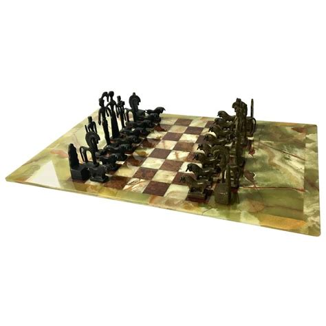 unique chess sets for sale unique chess set in the style of frededrick weinberg on