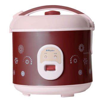 Miyako Rice Cooker Mcm 638 1 8 L daftar harga rice cooker miyako murah terbaru update