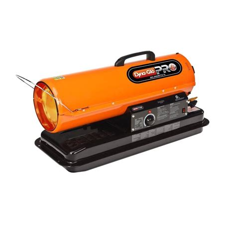 outdoor space heater home depot dyna glo pro 80k btu forced air kerosene portable heater