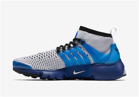 Nike Air Presto Mid Flyknit Black White 1 nike air presto ultra flyknit white blue sneaker bar detroit