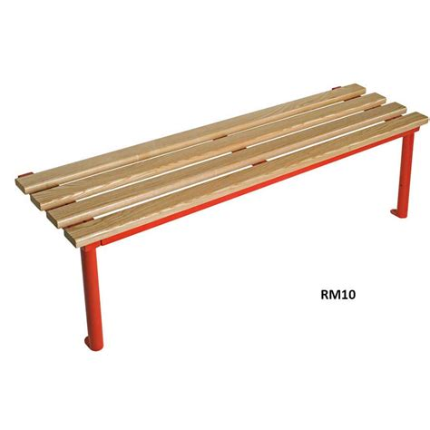 dressing room benches club round frame mono changing room bench ese direct