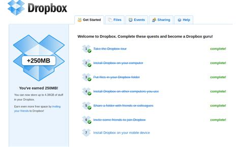 dropbox just says connecting earn extra space for your dropbox pc doctor ardee ltd