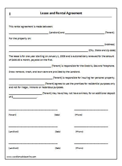 House Lease Agreement Template Lease Agreement Template Microsoft Word Templates Microsoft Rental Application Template