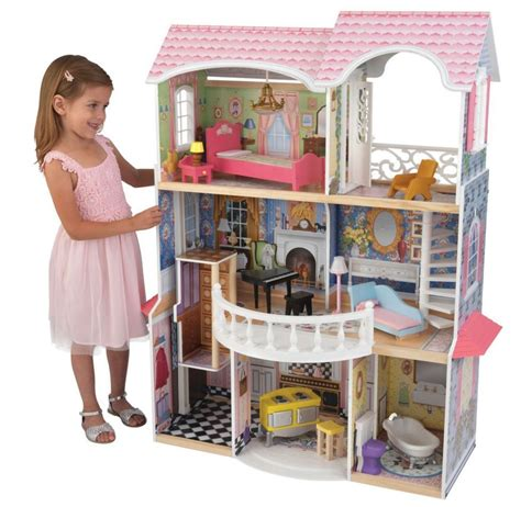 house for dolls dollhouse miniature mansion with 13 piece furniture doll house for dolls new hot ebay