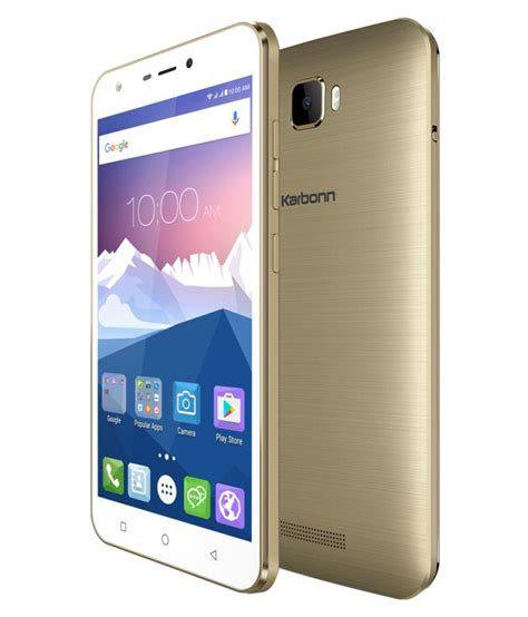 mobile android karbonn android phones launched in the year 2016