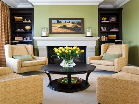 back sofa table living room arrangements with fireplace