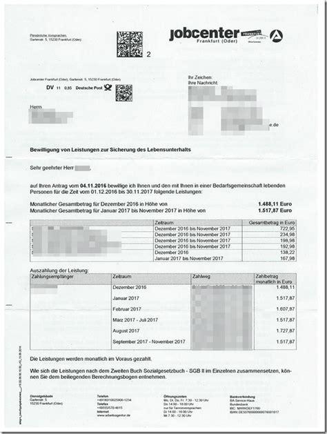 alg 2 wohnung der 4285 00 eur leistungsbescheid mimikama