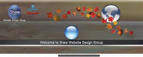 design header in php jimdo template artist shaw website design group