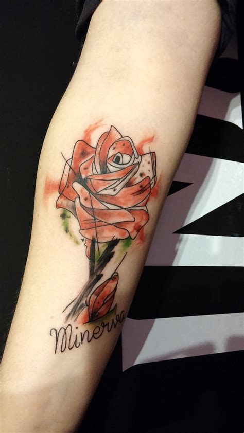 watercolor tattoo valencia dna ink denia costa blanca alicante valencia