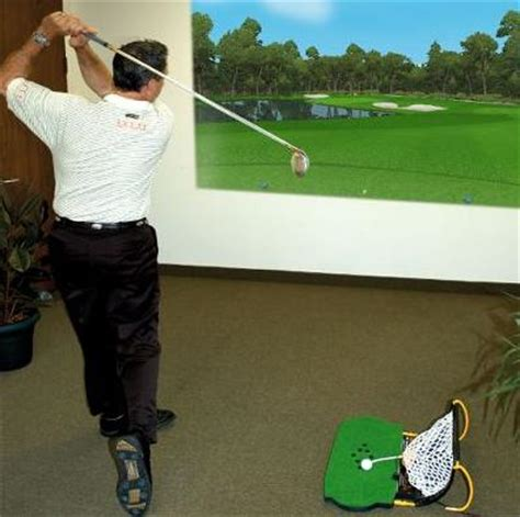 golf swing simulator for home use home swing golf simulator simulate real golf course