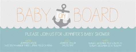 baby on board template blue baby on board invitation