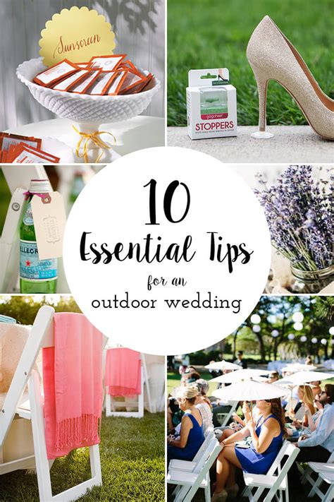 Backyard Wedding Essentials 10 Essential Tips For An Outdoor Wedding Gogo Heel