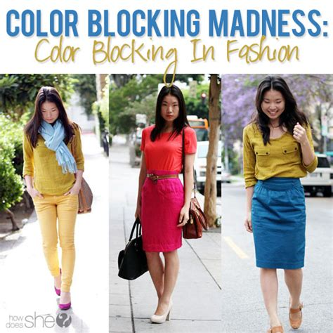7 Colour Blocking Tips by Color Blocking In Fashion