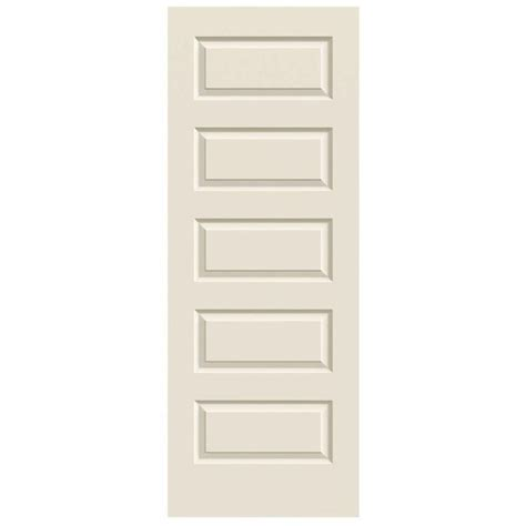 home depot jeld wen interior doors slab doors jeld wen doors smooth 5 panel primed molded