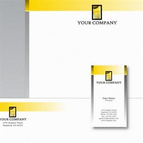 Design Vorlagen Briefpapier Briefpapier Design Vorlage Der Kostenlosen Vektor