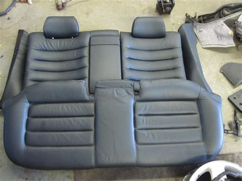 audi s4 b5 parts 97 02 audi s4 a4 oem b5 rear seat black leather set