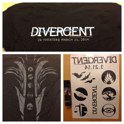 divergent temporary tattoos divergent temporary tattoos
