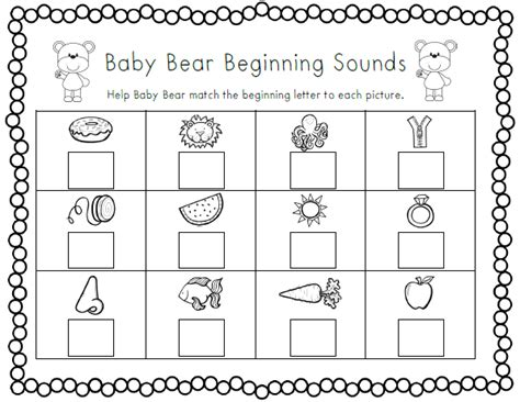 Beginning Sounds Cut And Paste Worksheets by Beginning Sound Cut And Paste Worksheets Beginning Sound