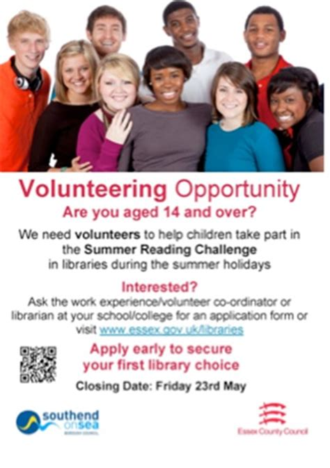 resources for recruiting young volunteers 2015 reading
