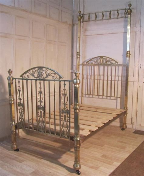 antique brass beds spectacular victorian brass small double bed antiques atlas